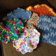 Cotton dishcloths!!