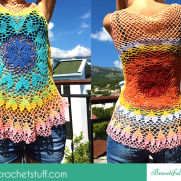 Lovebeat Crochet Top Tutorial