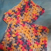 Rainbow Face/dish cloth