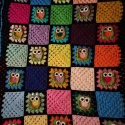 Owl Granny Afghan