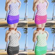 Crochet Halter Dress Pattern