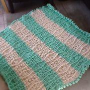 Fisherman lap quilt