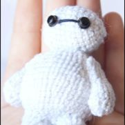 Little Baymax Amigurumi (Big Hero 6) - La Calabaza de Jack