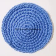 How to Make a Flat Single Crochet Circle