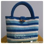 Little blue tote