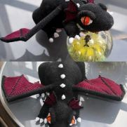 Black Dragon Crochet