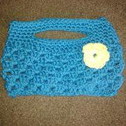 Granny Stripe Clutch Bag