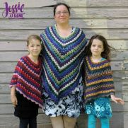 Falling Blocks Poncho