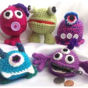 Money Monsters coin purses