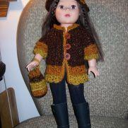 Feisty Browns Coat, Hat & Handbag