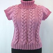 How to Knit Cable Vest. Video Tutorial