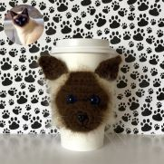 Siamese Cat Cup Cozy