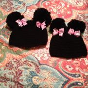 Pom Pom mommy & me hats