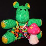 hillbilly hippo  and his mushroom