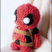 Deadpool Amigurumi - Marvel - La Calabaza de Jack