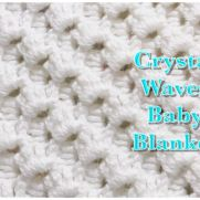 Crystal Waves Crochet Stitch