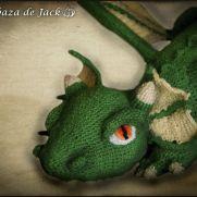 Crochet Dragon - La Calabaza de Jack