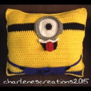 Crochet Minion Pillow