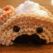 Crochet Fiesta Taco Amigurumi