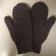 Wool Mittens for Dad