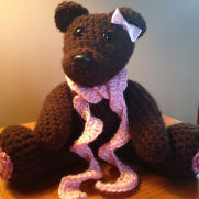 Bear for a baby girl