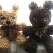 Crochet Bear Cubs