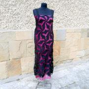 Crochet Black Dress, Black Long Dress, Black Cocktail Dress Exclusive, Lace Dress,