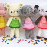 Girlgang amigurumi tutorial