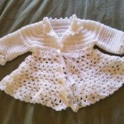 Crochet Victorian Jacket