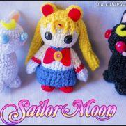 Sailor Moon Amigurumis - La Calabaza de Jack