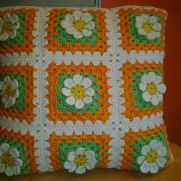 Pillow Cover - Granny Squares