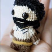 Khal Drogo Amigurumi - Game of Thrones - La Calabaza de Jack