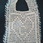 Clayton's reversible keepsake bib