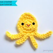 baby octopus applique