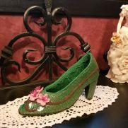 Cherry Blossom Shoe Jewelry Keeper