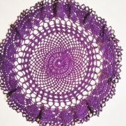 Easy Crochet Doily Free Pattern