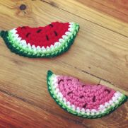 Summertime Watermelon Slice Pattern