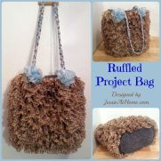 Ruffled Project Bag