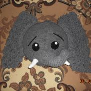 Jeffery Elephant pillow