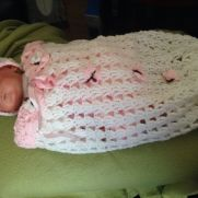 Crochet experiment own pattern, for next great grandaughter