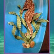 Seahorse in Seaweed