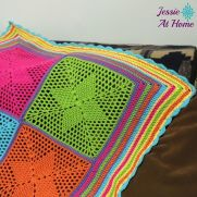 Four Points Star Blanket