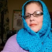 Turquoise Scarf Cowl
