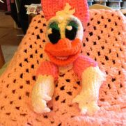 Daisy Duck inspired lovey