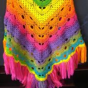 Fringed and Awesome Shawl