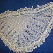 1ply glitter shawl