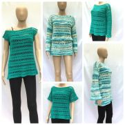Anysia Summer Top, Tunic, Beach Cover