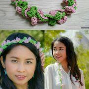delia flower crown