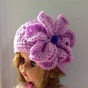 "My First Crochet ""Flower Hat"""