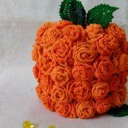 Autumn Rose Pumpkin